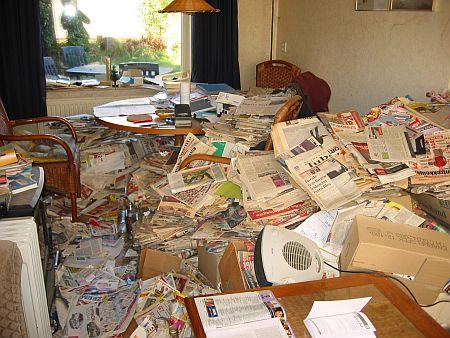 Vervuild huis melden